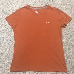 Orange XL Nike Slim Fit Tee